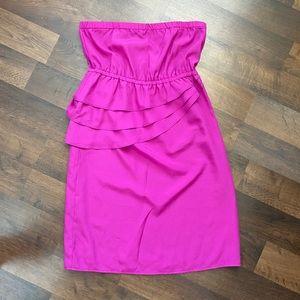 Magenta Colored Dress